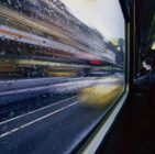 transport, blurry, moving